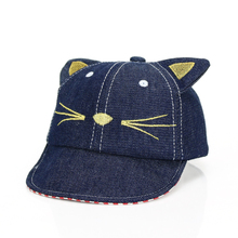 Lovely Kitty Cat Hat  Child Visor Cap Toddler Baby Boy Girl  Cartoon Cap Toddler Bebe Clothing Accessories