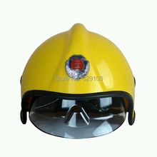 PEI material fire proof EU style fireman's safety helmet