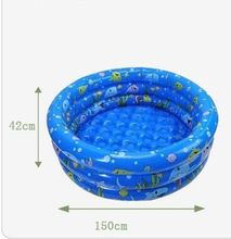 High quality environmental tricyclic round baby pool children's pool wholesale 150 * 42cm