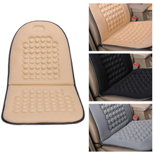 Universal 4 Season Car Seat Cushion Sponge Charcoal Single Chair Cover Warm Massage Mat Pads Automotive Interior Accessories(China)