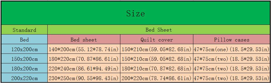 Anime Cartoon Myriad Colors Phantom World Quilt Cover Bedding Set With Pillow Cases Bed Sheet Duvet Cover Set 4pc No.CP20160109