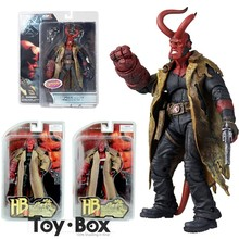 Movie HB Hellboy Series Includes Samaritan Handgun Cartoon Toy PVC Action Figure Model Doll Gift