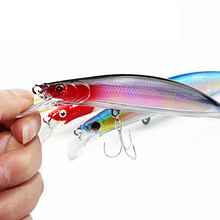 1PCS High Quality 14cm 20g 2# Hooks Minnow Fishing Lure Deep Diver Wobble Plastic Hard Bait Crankbait 4 Colors