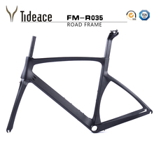 2017 T800 X brake carbon frame 49 52 54 56 carbon road frame carbon bicycle frame with fork hidden brake road carbon frame(China)