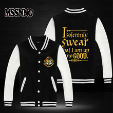 USA size plus size New Fashion Brand Clothing Varsity Jacket harry potter Men Jackets Casual Jacket fast ship full cotton(China)