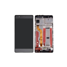 Mobile Phone Parts for Huawei P 9 LCDs Screen and Digitizer Assembly + Frame Replacement Part OEM for Huawei P9  - Black