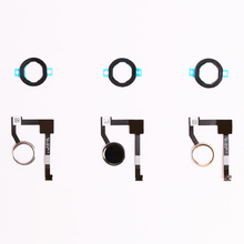 20pcs/lot Repair Parts For iPad Mini 4 Home Button Key flex cable Black gold white Assembly(China)