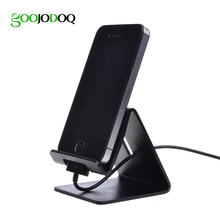 Universal Aluminum Mobile Phone Holder Desktop Charger Stand Mount Cradle For iPhone 4 5 6 7 plus iPad Samsung Tablet Pop Dock