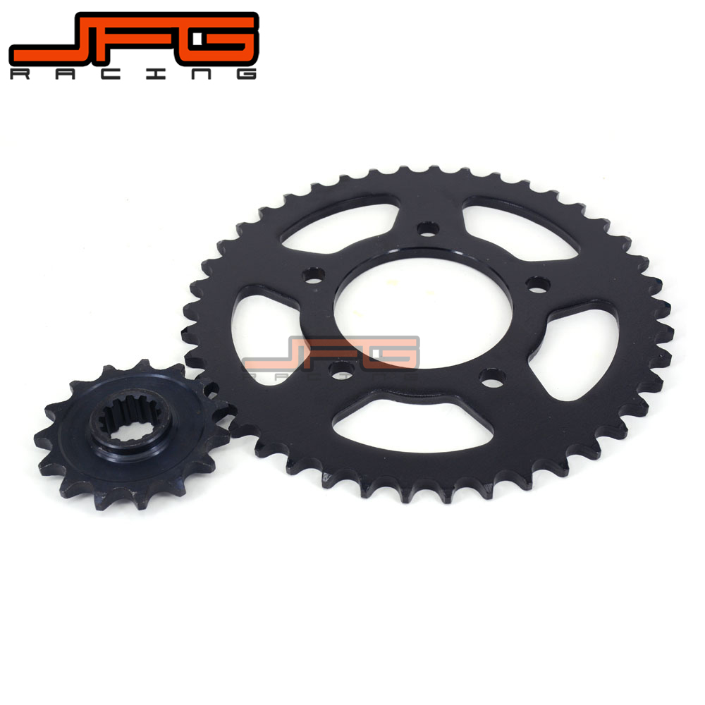 Front 14T Sprockets + Rear 42T Sprockets for CB400 CB 400 1992 1993 1994 1995 1996 1997 1998 Motorcycle