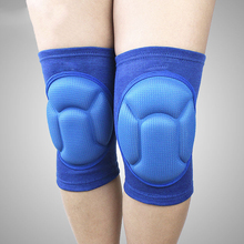 2017 YD 1 Pair New Thicker Anti-collision knee Compression Sport Safety Volleyball Sock Sporting Goods Sports Gaiters Knee Pads(China)