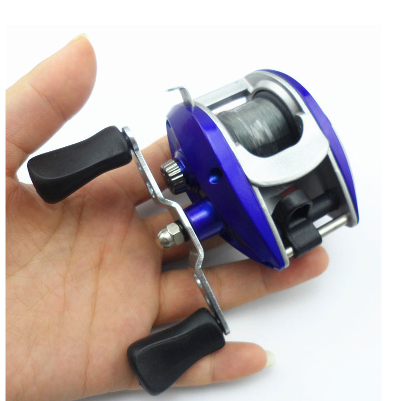 2017 fishing vessel Pascal left O LA bobina bottom ultra light Pascal mano coil destra water wheel reel speed ratio 5.4:1<br><br>Aliexpress