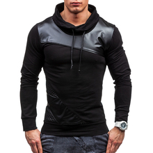 2017 Spring Autumn Fashion Solid Fight The Skin Casual Male Streetwear Long Sleeve Hoodies Men Pullover Sweatshirts XXL