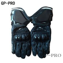 Free Shipping New 3 Colors Original GP PRO Motorcycle Long Gloves TOP Genuine Leather Motorbike Gloves MotoGP Racing Team Gloves