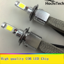 All-in-One Car Headlights H7 LED H8/H9/H11 9005 9006 H1 H4 Bulb Auto Front Bulb  30W 6000lm Automobiles Headlamp 6000K /4300K