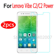 Buy 2Pcs Lenovo Vibe C2 Power Tempered Glass 9H 2.5D Premium Screen Protector Film Lenovo Vibe C2 / C2 Power K10a40 5.0 inch for $1.89 in AliExpress store