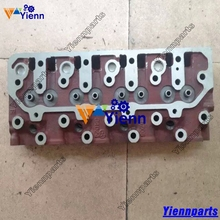 For Cummins A2300 Cylinder Head 4900995 for DOOSAN DAEWOO D20S D25S D30S FORKLIFT A2300 A2300T diesel engine repair parts(China)