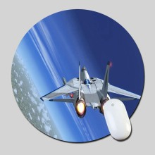 After Burner Airplane In The Sky 2016 Round Gaming Mouse Mats Mice Pad for Size 200*200*2mm