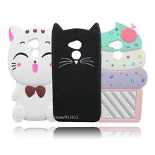 For Huawei Honor 6C Case Cute Beard Cat Ice Cream Cupcakes Minnie Soft Phone Skin Cover Cases For Huawei Nova Smart / Enjoy 6S(China)