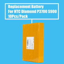 New Arrival 10Pcs/Pack 800mah Replacement Battery For HTC Diamond P3700 P3702 S900 High Quality(China)