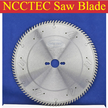 10'' 120 teeth 254mm Carbide saw blade with Silencer holes for cutting melamine faced chipboard | Left-Right face angle teeth(China)