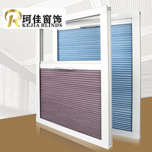 Free shipping Russia NZ Australia pull rod control sunfilter Cellular Window skylight Honeycomb Blinds curtains Shades for roof(China)