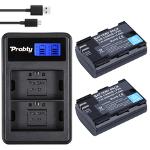 Hight quality 2* Full code 2650mAh LP-E6 LP E6 lpe6 Battery + LCD Dual Charger For Canon 5D Mark II III 7D 60D EOS 6D