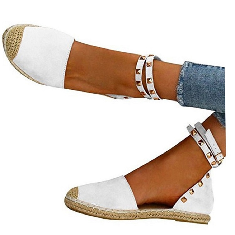 Women Sandals Fashion Peep Toe Summer Shoes Woman Faux Suede Flat Sandals Size 35-43 Casual Shoes Woman Sandals Zapatos Mujer (20)