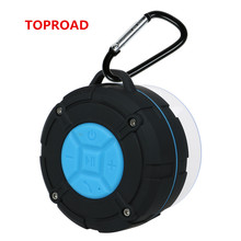 Toproad Bluetooth Speaker Waterproof Outdoor Column Portable Speaker with Sound System Ultra Bass Stereo Music Audio MP3 Player(China)