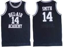 2016 Smith Basketball Jersey Number 14 Color Black Good Quality Basketball Jersey