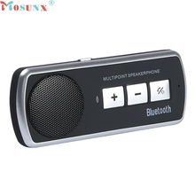 mosunx E5 Mecall Tech New HOT Bluetooth USB Multipoint Speaker For Cell Phone Handsfree Car Kit Speakerphone