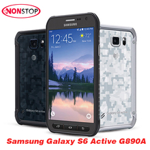 Original Unlocked Samsung S6 Active G890A 5.1'' LTE 32GB ROM 16MP Qcta Core Refurbished Phones Hot Selling Samsung Cell Phones