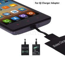 10pcs 5V Qi Wireless Charger Adapter Charging Accessories  Android Universal Receiver For Support Wireless Phone