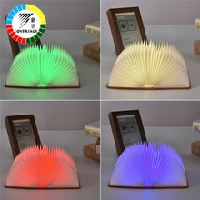 Coversage Novel Night Light 2 Pcs Four Colors Children Kids Baby Magical Light Led Book Table Lamp Night Lamps Sleeping Lighting