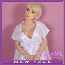 165cm Realistic solid silicone female sex doll vagina/oral/anal,Lifelike big breast silicone love sex doll with Metal skeleton