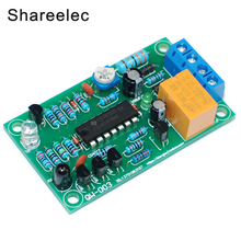 Shareelec Infrared Sensor Switch Automatic faucet module hand drier controller DIY Kit DC 12V(China)