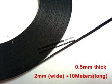 2mm~25mm Wide, (0.5mm Thick) 10M/Roll, Double Sided Sticky Black Foam Sponge Tape for Phone Samsung HTC Screen Dust Proof Seal