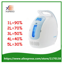 XGREEO XTY-AC101 Mini Portable Oxygen Concentrator Generator For Home/Travel 1-5LPM Oxygen Making Machine(China)