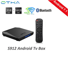 Buy OTHA M92S S912 Android 7.1 TV Box Amlogic S912 Octa core ARM Cortex-A53 CPU 2GHz 2GB/16GB Wifi 4K Media Player TV Receiver for $64.01 in AliExpress store