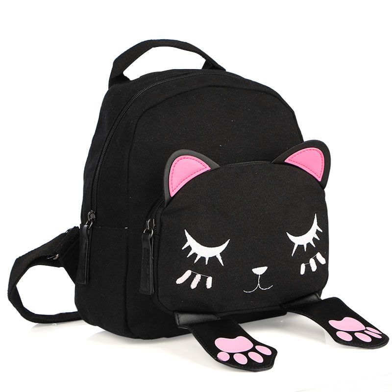 Women-Canvas-Backpack-For-Teenage-Girls-Cat-Bags-Interesting-Preppy-Style-Backpacks-Students-Travel-Bag-Cute
