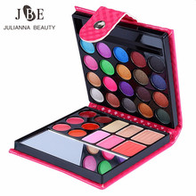 3Box/Lot Makeup Eyeshadow Palette Fashion Eye Shadow Make Up Shadows With Case Brush Mirror Cosmetic For Women Beauty 32 Color(China)