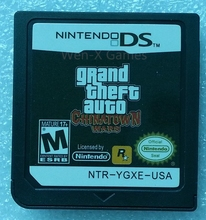 Nintendo NDS Game Grand Theft Auto Chinatown Wars Video Game Cartridge Console Card English Language USA Version(China)