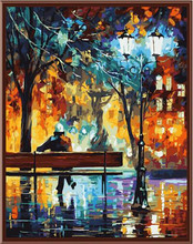 40x50cm framed digital oil painting by numbers diy home decoration craft paint on canvas unique gift picture tree night G359