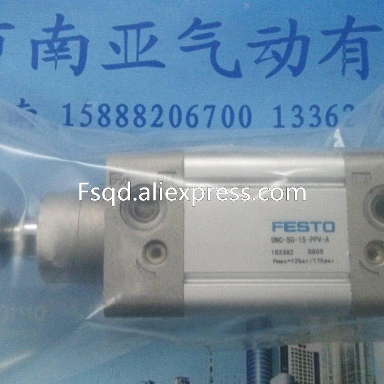 DNC-50-15-PPV-A DNC-50-25-PPV-A DNC-50-40-PPV-A FESTO standard cylinder<br>