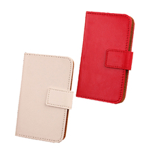 ABCTen Stylish Pop Cell Phone Cover PU Leather Book Style With Holder & Credit Card Case For Medion Life E4001 MD 98500