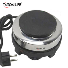 TINTON LIFE 500W Electric Mini Stove Hot Plate Multifunction Cooking Plate Coffee Heater(China)
