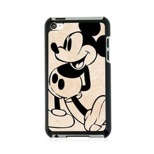 Mickey Mouse Vintage Custom Design Protective Shell Skin Bag Case For ipod Touch 4