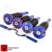 Adj. Ride Height Blue Coilovers for 04-08 Acura TSX 03-07 Accord Shock Absorbers Struts coil over  Spring