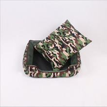 Camouflage  Pet Bed  Small And Medium-Sized Pet Kennel  Washable  Cat House  19.5 X 15.6 X 5.5 '' GP161019-12