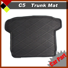 Waterproof Car Trunk Mat Tray Boot Liner Luggage Protection Floor Seat Cushion  Carpet  Easy Insulation Fit Citroen C5