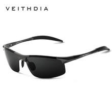 Veithdia Aluminum Mens Sunglasses Polarized Sun glasses Driving Eyewear Accessories For Men oculos de sol masculino shades 6518(China)